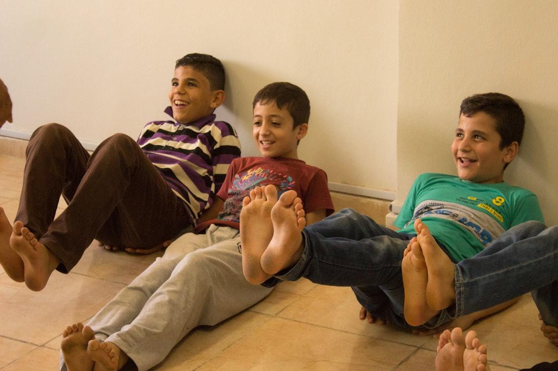 Play-Based Learning for Refugees in Jordan — Shorthand Social