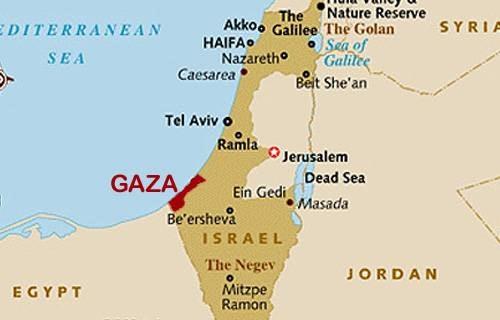 Franja De Gaza Mapa.Franja De Gaza Conflicto Shorthand Social